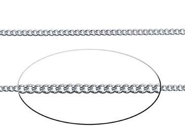 1.8 mm Sterling Silver Diamond Cut Curb Chain