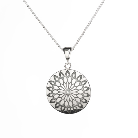 Spice Route Concheau Pendant by Mary Laur