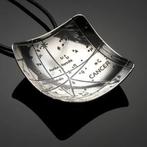Cancer Constellation Pendant
