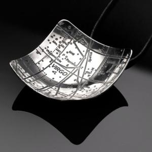 Virgo Constellation Pendant