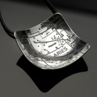 Aries Constellation Pendant