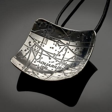 Aquarius Pendant by Mary Laur Jewelry
