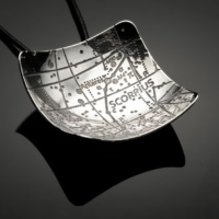 Scorpius Constellation Pendant