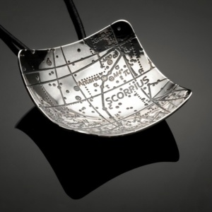 Scorpius Constellation Pendant